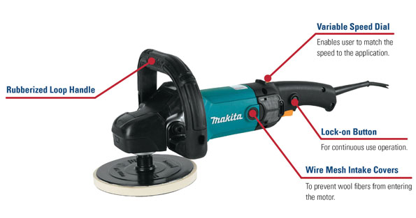 Makita 9237C Features