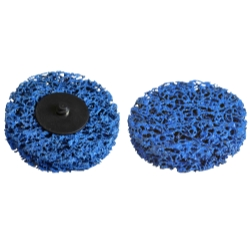 "Astro Pneumatic 3"" Blue Woven Strip Disc AST22611"