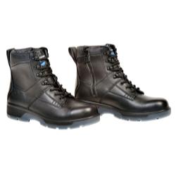 """Blue Tongue Black 6"""" Lace Up Side Zipper Composite Toe Boot, Size 10 BTGBTCP10"""