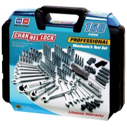 Channellock 39068 158 Pieces Professional Mechanic's Tool Set