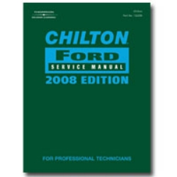 Chiltons Book Company 2008 Ford Service Manual CHN142208