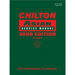 Chilton 2008 Asian Service Manual Volume 4 CHN142218