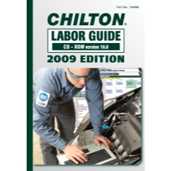 Chilton 2009 Labor Guide CD-ROM CHN156968