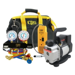 CPS Products Quality Manifold, Pump and Leak Detector Kit CPSKTBLM1