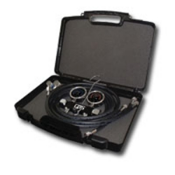 CPS Products Blackmax™ 2 Valve Piston 134-A Manifold Gauge Set - CPSMAID8KCZ
