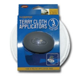 "Carrand The Gripper™ 5"" Terry Applicators - 3 pack CRD40122"