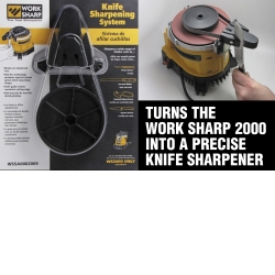 Drill Doctor Knife Sharpening System Add-On for the Work Sharp 2000 DARWSSA0002009