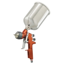 ITW Devilbliss Tekna® Copper Limited Edition HE Gravity Spray Gun with Aluminum Cup DEV703489