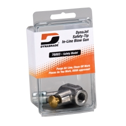 Dynabrade Products DynaJet Safety-Tip In-Line Blow Gun DYB76003