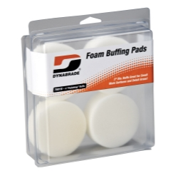 "Dynabrade Products 3"" White Foam Polishing Pads DYB76016"
