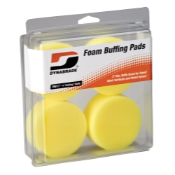 """Dynabrade Products 3"""" Yellow Foam Cutting Pads DYB76017"""