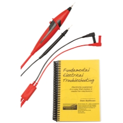 Electronic Specialties LOADpro® Bundle - Dynamic Test Leads and Fundamental Electrical Troubleshooting Book ESI181