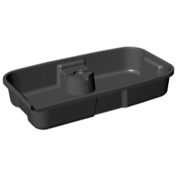 3F Less Mess Oil Drain Pan™ with Open Top FFF5080
