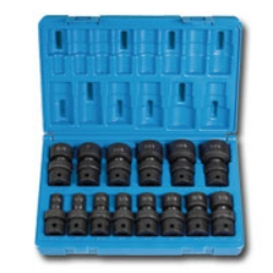 "Grey Pneumatic 1/2"" Drive 14 Piece Fractional Universal Impact Socket Set GRE1314U"