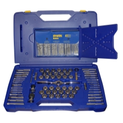 Hanson 116 Piece Tap/Die/Drill Deluxe Set with PTS Handle HAN1813817