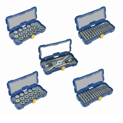 Hanson 76 Piece Full Coverage SAE and Metric Plug Tap and Die Drive Set HAN4935354