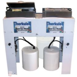Herkules Equipment Dual Automatic Waterborne Paint Gun Washer HERG375
