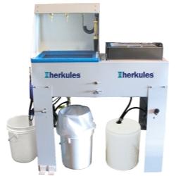 Herkules Equipment Waterborne and Solvent Combo Paint Gun Washer HERG520