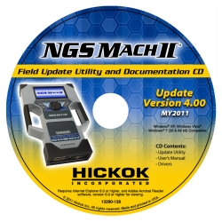 Hickok NGS Mach II v4.0 2011 Software Update HIC82011