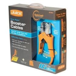 Hopkins 6 Gauge 16ft Juice Booster Cables with Cinch-Lock HPKBC0840