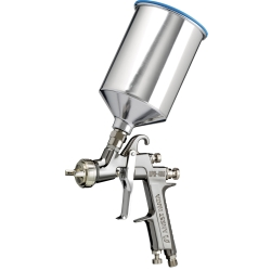 Iwata LPH400-144LV Center Post Gravity Feed HVLP Spray Gun with 700ml Aluminum Cup IWA5552
