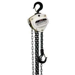 Jet Tools 104220 L-100-100-20, 1-Ton Hand Chain Hoist w/20' Lift JET104220