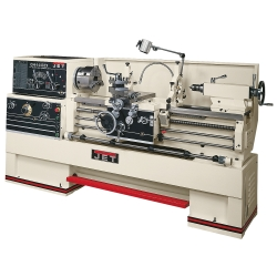 """Jet Tools 321910 GH-1440ZX, 3-1/8"""" Spindle Bore Geared Head Lathe - JET321910"""