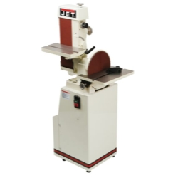 Jet Tools 414553 J-4202A, 6 x 48 Industrial Combination Belt & Disc Finishing Machine 230V 3Ph - JET414553