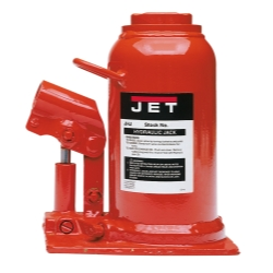 Jet Tools JHJ-22-1/2L 22-1/2 Ton Low Profile Hydraulic Bottle Jack (2 Pieces) JET453323K