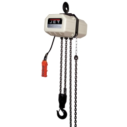 Jet Tools 511500 5SS-1C-15 5 Ton Electric Chain Hoist with 15' Lift, 115/230V - JET511500