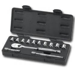 "KD Tools 3/8"" Drive 13 Piece Metric 6 Point Socket Set KDT80558"