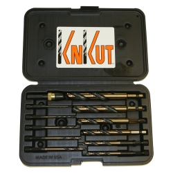 "R W Thompson Inc 12 Piece 1/4"" Shank Quick Release Drill Kit KNK12KKQRD"