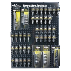 K Tool International Torq and Hex Bit Display Board KTI0810