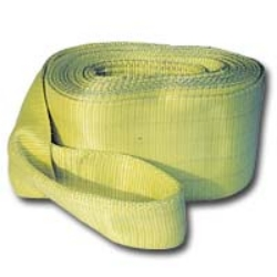 "K Tool International 3"" X 20' 30,000 lb. Capacity Tow Strap With Looped Ends KTI73811"