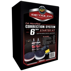 """Meguiars DA Microfiber Correction System Kit (6"""") MEGDMCKIT6"""