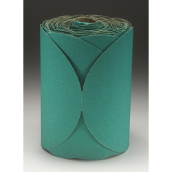 "3M™ 6"" 100/Roll Stikit™ Green Fre-Cut™ Disc Roll MMM1506"