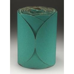"""3M™ 6"""" 100/Roll Stikit™ Green Fre-Cut™ Disc Roll MMM1506"""