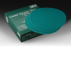 "3M™ 8"" 50/Box Green Corps™ Stikit™ Production™ Disc MMM1549"