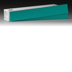 "3M™ 2-3/4"" x 17-1/2"" 100/Box Green Corps™ Production™ Resin Sheet MMM2220"