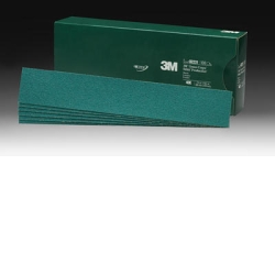 "3M™ 2-3/4"" x 16-1/2"" 100/Box Green Corps™ Stikit™ Production™ Sheet MMM2231"