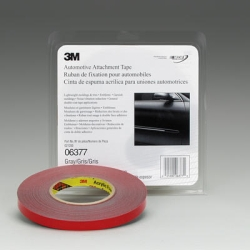 "3M™ Automotive Attachment Tape, Gray, 1/2"" x 20 yds. MMM6377"