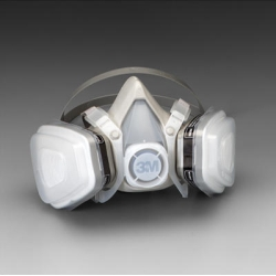 3M™ Small Organic Vapor/P95 Dual Cartridge Respirator Assembly MMM7191