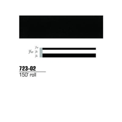 "3M™ Scotchcal™ Striping Tape, Black, 5/16"" x 150' MMM723-02"