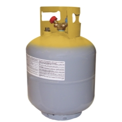 "Mastercool 50 lb. DOT Tank with 1/2"" Acme Connection; without Float MSC66010"