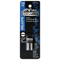 Mountain No. 10-12 Slotted Insert Bit MTN55530