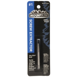 Mountain #1 Spiral Flute Screw Extractor MTN55560
