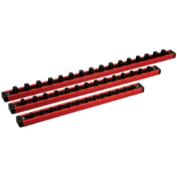 "Mechanics Time Service 1/4"", 3/8"" and 1/2"" Drive Lock-A-Socket Rails, 3 Each MTSLAS9PACK"