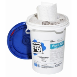 PIG® Oil Only Spill Kit in Bucket NPGKIT413