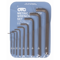 OTC Tools 1.5mm - 10mm 9 Piece Metric Hex Key Set OTC7334