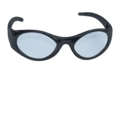 SAS Safety SAS5180-50 Stingers High impact Safety Glasses Black Frames/Clear Lens SAS5180-50